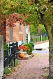 fall in german village about columbus