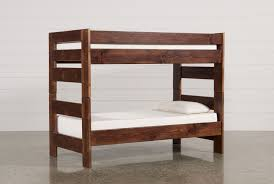 sedona twin twin bunk bed living spaces sedona twin twin bunk bed 360