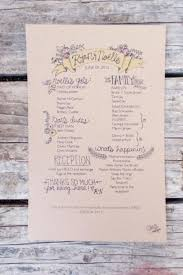 Diy Wedding Programs Templates Single Page Wedding Program Templates For Illustrator Weddingbee