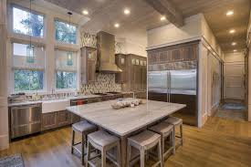 Transitional Kitchen Lighting Kitchen With Kitchen Island Exposed Beam In Santa Rosa Fl