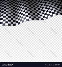 Checkered Flag Eps Checkered Flag On Transparent Background Vector Image