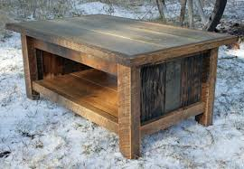 reclaimed wood end tables rustic build reclaimed wood end tables