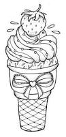dulemba coloring page tuesday ice cream cone templates