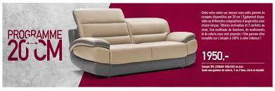 lambermont canapé meubles lambermont promotion canapé 3pl en cuir produit maison