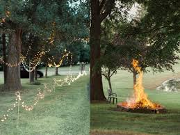 small backyard wedding reception ideas simple decoration pictures