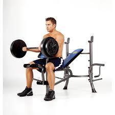 marcy standard bench w 80lb weight set mwb 36780b sale best