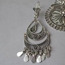 silver chandelier earrings sterling silver chandelier earrings house furniture ideas