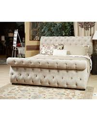 Upholstered Sleigh Bed King Bargains On Signature Design By Ashley Willenburg Cal King