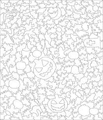 Halloween Puzzles Printable by Halloween Puzzle