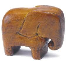 elephant favors miniature luck wooden elephants wedding favors