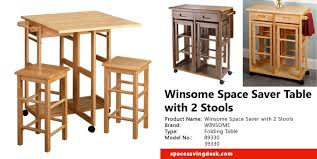 table with 2 stools winsome space saver table with 2 stools review space saving desk