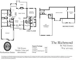 28 richmond floor plan spanish style house plans richmond
