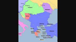 Balkans Map History Of Balkan 1200 1914 Map Istorija Balkana ιστορία