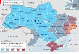 Map Of Ukraine And Crimea Crisis In Ukraine