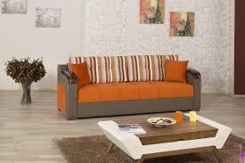 Orange Sofa Bed by Divan Deluxe Signature Sofa Bed