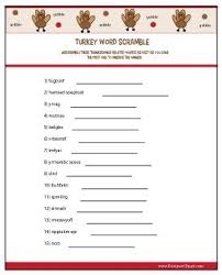 free printable thanksgiving thanksgiving word scramble my