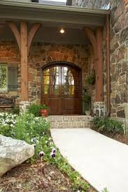 the 25 best stone front porches ideas on pinterest stone