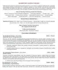 resume for student teaching exles in writing student teacher resume template sles for teaching profession