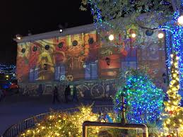 Is Six Flags Open On Christmas Holiday In The Park 2016 Showcases Christmas And Coasters At Six