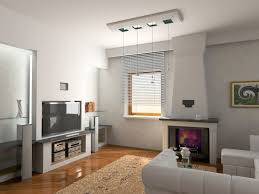 trendy modern ceiling interior design with down lights also white