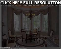 dining room bay window home design ideas