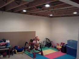 smart idea basement ceiling lights best 20 exposed basement
