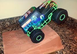 remote control monster truck grave digger the making of gravedigger the cake