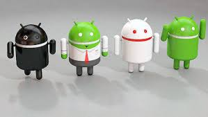android model android 3d logo cgtrader