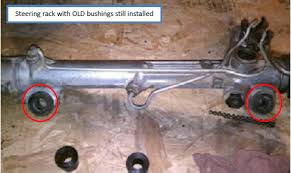 mustang 2 power rack and pinion how to install standard steering rack bushings on your 1985 2004
