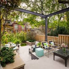 Tiered Backyard Landscaping Ideas Triyae Com U003d Backyard Urban Garden Toronto Various Design