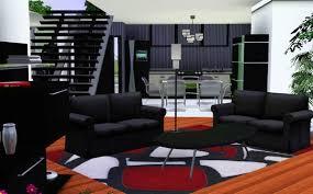 sims 3 cuisine sims 3 maison moderne noir et blanche house black and white