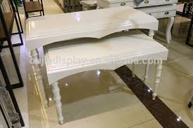 display tables for boutique european style clothing furniture store shop fitting display table