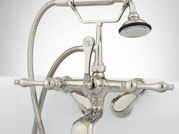 Polished Nickel Bathroom Faucets by Bathroom Faucets Wonderful Wall Mount Faucet With Sprayer Wall