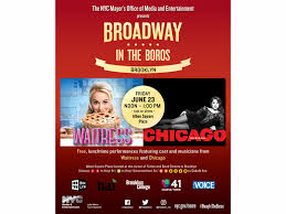 broadway actors to perform free shows in nyc parks new york city