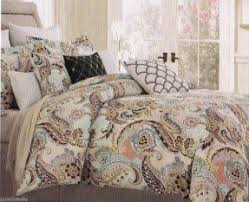 blue green paisley bedding foter