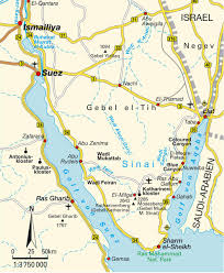 Iso Map Map Sinai Peninsula Maps And Directions At Map