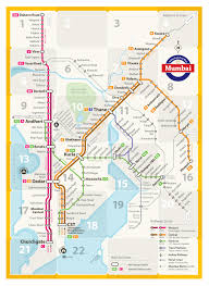Portland Public Transportation Map by Unofficial Map Suburban Rail Network Of Mumbai India Designed