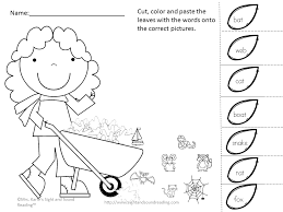 cut and paste activity for kindergarten learning is fun cut