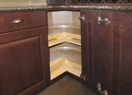 how to install lazy susan cabinet awesome lazy susan corner cabinet within kitchen plans trekkerboy