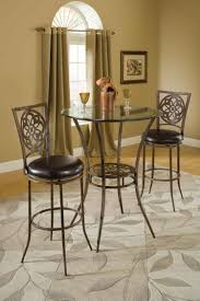 High Chair Dining Room Set Dining Room 3 Pieces Dining Sets In Ancient Theme With Leather