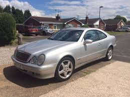 mercedes clk 320 coupe 51 plate automatic silver 170 000