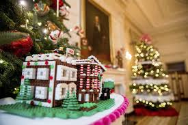 legos gingerbread and gumdrops how the obamas decorated the
