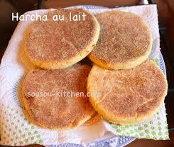 cuisine de sousou recette de harcha galette marocaine à la semoule sousoukitchen
