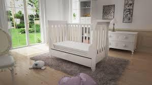 Sleigh Cot Bed Babymore Eva
