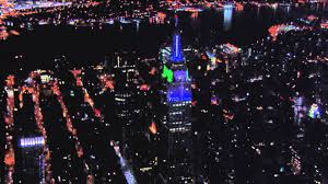 seahawks light up sign empire state building lights up in the colors of the seattle