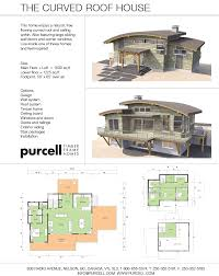 purcell timber frames home packages the curved roof house