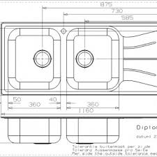 Kitchen Sink Base Cabinet Dimensions Emejing Standard Size Kitchen Sink Contemporary Home Design