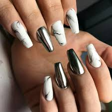 nails different shapes beautify themselves with sweet nails