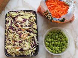 asian slaw with ginger peanut dressing once upon a chef