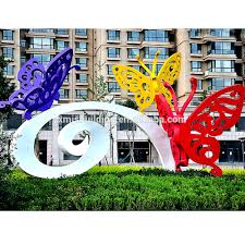 Large Butterfly Decorations by Butterfly Decoration Outdoor Metal Butterfly Decoration Outdoor